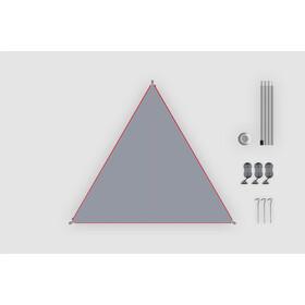 Bent Canvas Plain Kit, high rise/zipper red